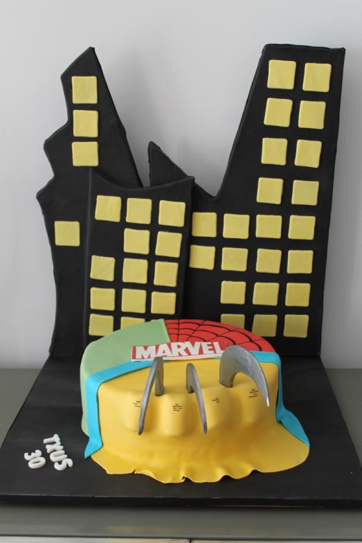 Tarta super heroes, Tartas personalizadas madrid, Tartas decoradas madrid, tartas fondant madrid, thecakeproject, Reposteria Creativa, tartas infantiles, tartas cumpleaños,