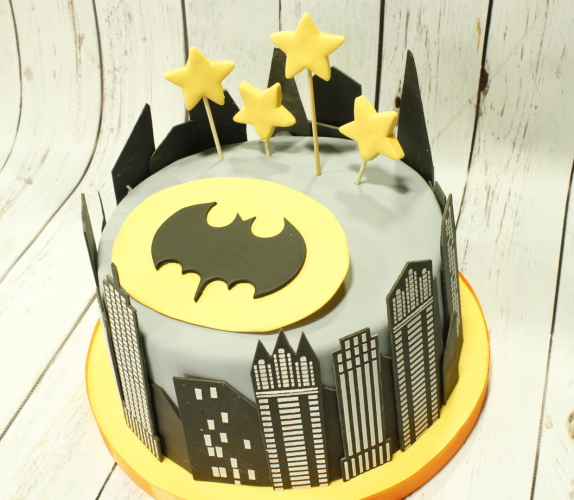 Tarta Batman, Tartas personalizadas madrid, tartas decoradas madrid, tartas fondant madrid, tarta super heroes, tartas infantiles, tartas cumpleaños, TheCakeProject, Repostería Creativa