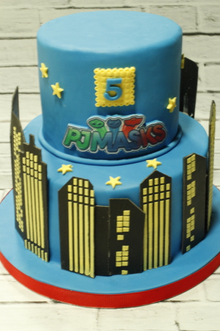tartas personalizadas madrid, tartas fondant madrid, tartas decoradas madrid, tartas infantiles, tartas cumpleaños, tarta pjmasks