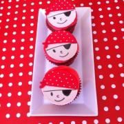 Cupcakes Piratas