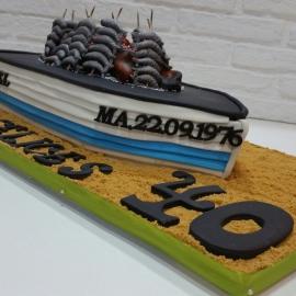 Tarta Barca de Espetos