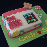 Tarta Candy Crush Saga