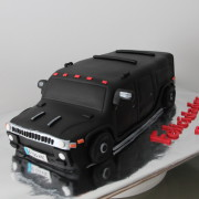 Tarta Hummer 3D, Tarta coche 3D, tartas decoradas madrid, tartas fondant madrid, tartas personalizadas madrid, tartas cumpleaños,