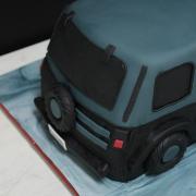 Tarta Wrangler 3D , Tarta coche 3D, tartas decoradas madrid, tartas fondant madrid, tartas personalizadas madrid, tartas cumpleaños,