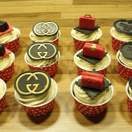 Cupcakes Gucci, cupcakes prada