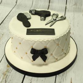 Tarta Peluqueria, Tarta maquillaje,Tarta MAC,  tartas personalizadas madrid, tartas fondant madrid. tartas decoradas madrid