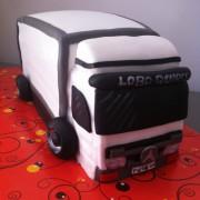 Tartas personalizadas madrid, tartas fondant madrid, tartas decoradas madrid, Tarta camion, tarta coche 3D