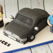 Tartas personalizadas madrid, tartas fondant madrid, tartas decoradas madrid, Tarta camion, tarta coche 3D ,