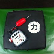 tarta  Maquina Tatoo, tartas decoradas madrid, tartas personalizadas madrid, tartas fondant madrid, tartas cumpleaños