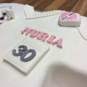 Tarta Bata Dentista, tartas decoradas madrid, tartas personalizadas madrid, tartas fondant madrid, tartas cumpleaños