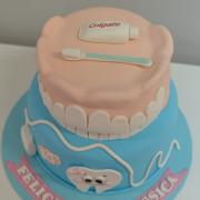 Tarta Dentista, tartas decoradas madrid, tartas personalizadas madrid, tartas fondant madrid, tartas cumpleaños