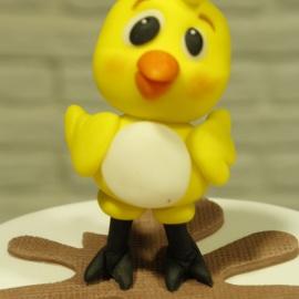 La Gallina Pintada y el pollo amarillito