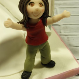 figura modelada fondant