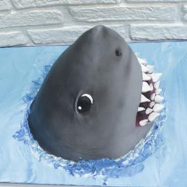 Tarta Tiburon 3D