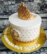 Tartas personalizadas madrid, tartas decoradas madrid, tartas fondant madrid, tarta corona