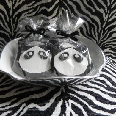 Galletas Panda, Galletas personalizadas madrid, galletas decoradas madrid, galletas fondant madrid
