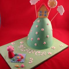Tarta Montaña Peppa Pig, Tartas personalizadas madrid, Tartas decoradas madrid, tartas fondant madrid, thecakeproject, Reposteria Creativa, tartas infantiles, tartas cumpleaños,