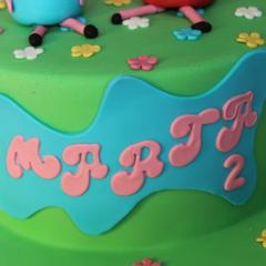 Tarta PeppaPig, Tartas personalizadas madrid, Tartas decoradas madrid, tartas fondant madrid, thecakeproject, Reposteria Creativa, tartas infantiles, tartas cumpleaños,