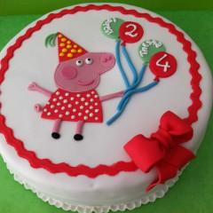 The Cake Project - Tarta Peppa Pig, Tartas personalizadas madrid, Tartas decoradas madrid, tartas fondant madrid, thecakeproject, Reposteria Creativa, tartas infantiles, tartas cumpleaños,