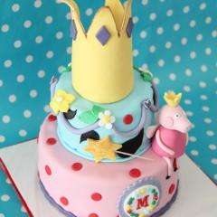The Cake Project, Tarta Peppa Pig,Tartas personalizadas madrid, Tartas decoradas madrid, tartas fondant madrid, thecakeproject, Reposteria Creativa, tartas infantiles, tartas cumpleaños,