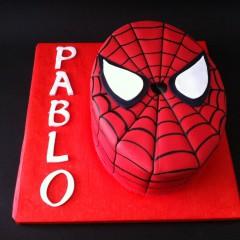 Tarta Spiderman, Tartas personalizadas madrid, Tartas decoradas madrid, tartas fondant madrid, thecakeproject, Reposteria Creativa, tartas infantiles, tartas cumpleaños,