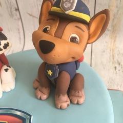 Tarta Patrulla Canina, tartas personalizadas madrid, tartas decoradas madrid, tartas fondant madrid,