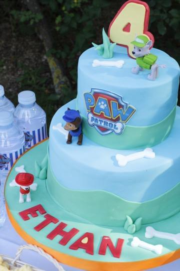 tartas personalizadas madrid, tartas fondant madrid, tartas decoradas madrid, tarta patrulla canina