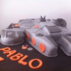 Tartas personalizadas madrid, tartas fondant madrid, tartas decoradas madrid, Star wars cake, Storm Trooper cake, tarta Halcon Milenario