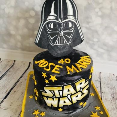 tartas personalizadas madrid, tarta star wars, tartas decoradas, tartas fondant, tartas infantiles