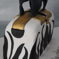 Tarta Bolso 3D, tartas personalizadas madrid, tartas fondant