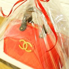 Tarta Bolso Chanel 3D