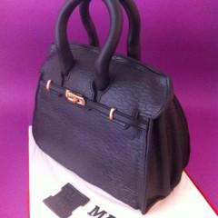Tarta Bolso Hermes 3D, tartas personalizadas madrid, tartas fondant