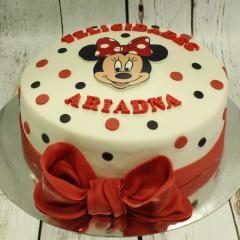 Tarta Minnie Mouse, tartas disney, tartas infantiles, tartas personalizadas madrid, tartas decoradas madrid, tartas fondant madrid,